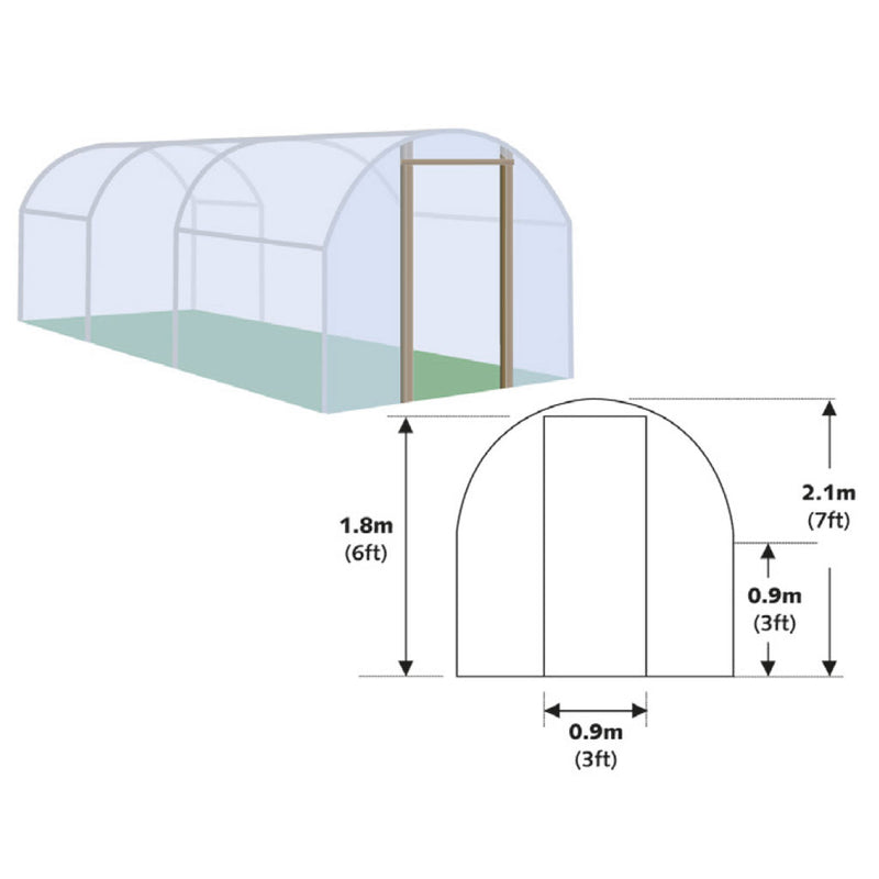 Polytunnel- UV Block Polythene