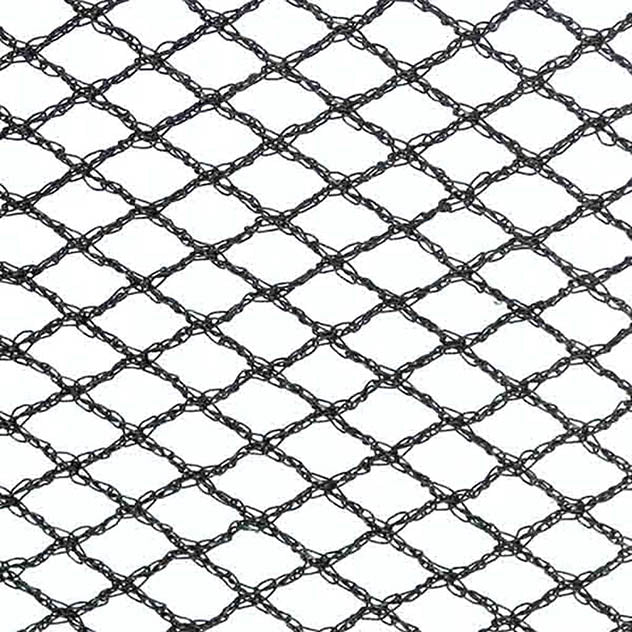 "Vegetable Cage Roof Net - 7mm (¼"") woven diamond mesh"