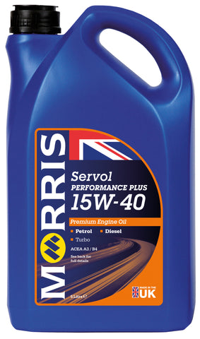 Servol Performance Plus 15W-40 Motor Oil