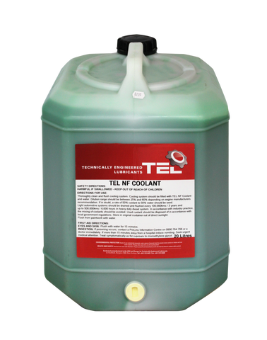 TEL AC-9 NF Concentrate Coolant - CURRENT WINTER SPECIAL, NO FURTHER DISCOUNTS APPLY