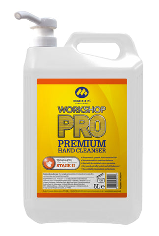 Workshop PRO Premium Hand Cleanser inc Pump (formerly Momento)