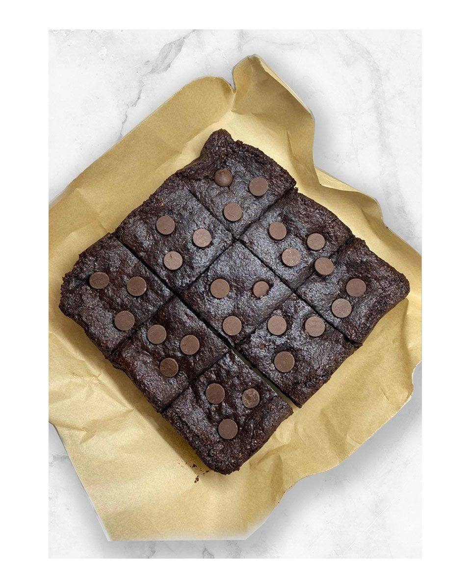 Flourless Dairy Free Dark Chocolate Brownies can add Coffee