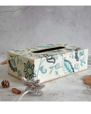 Tissue Box - Hand Painted