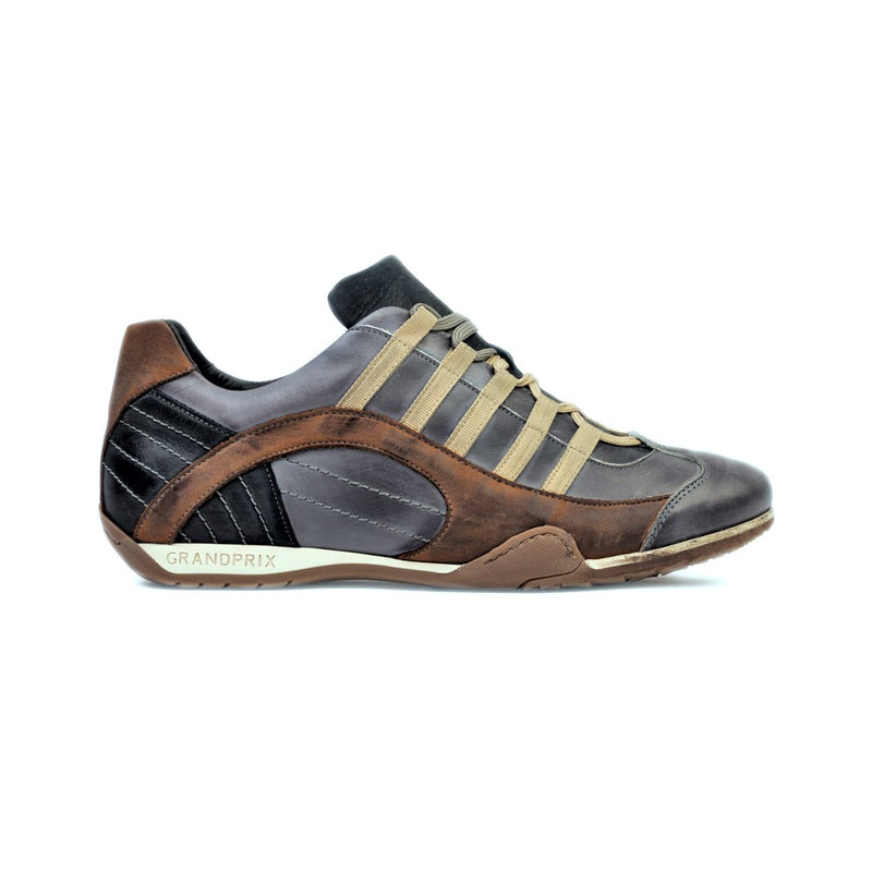 Men's GrandPrix Sneaker in Beach Club (Faded Navy and Brown)