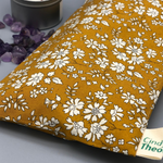 Amethyst Crystal Healing Eye Pillows- Capel Mustard Liberty London