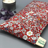 Amethyst Crystal Healing Eye Pillows-June's Meadow - Red - Liberty London