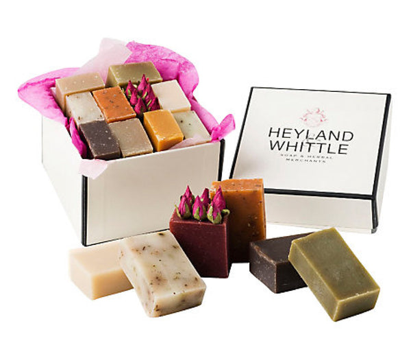 10 Small Soaps in a Gift Box