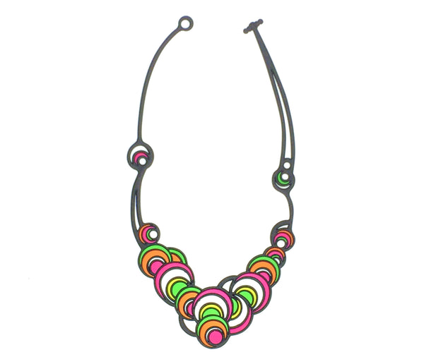 Dancing Circles Necklace