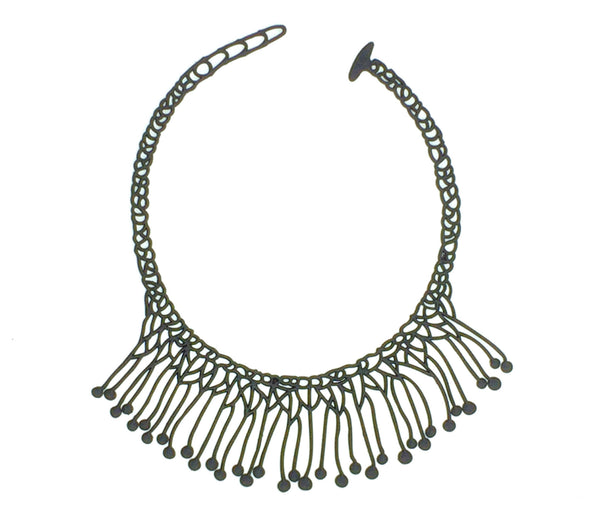 Di. Maccio Necklace. Black