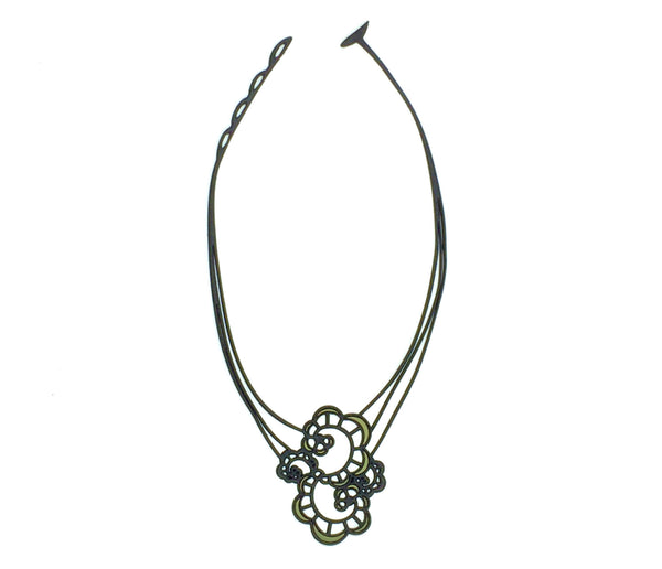Japanese Flower Necklace