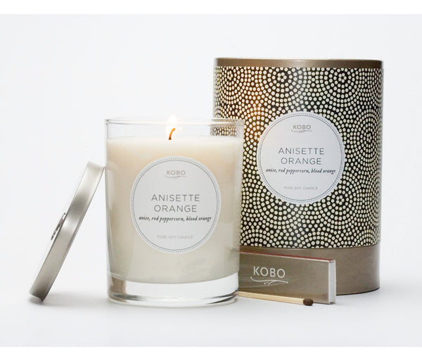 Anisette Orange Candle