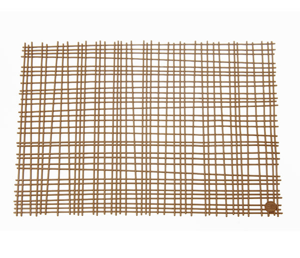 Bambou Placemat. Moka. Set of 2