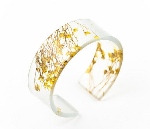 Bumble Flower Narrow Cuff