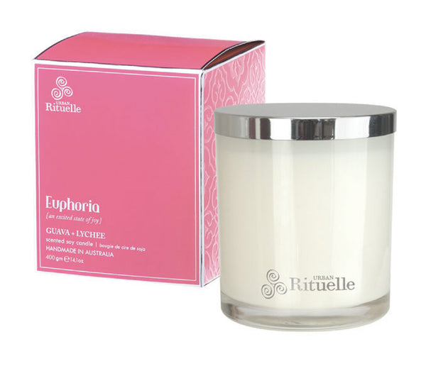 Euphoria: Guava & Lychee Candle