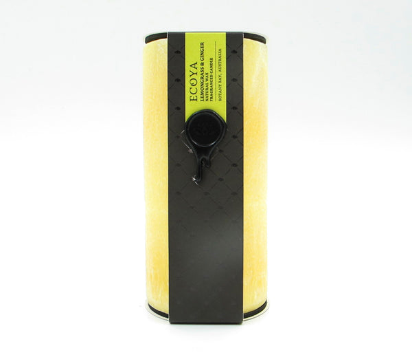 Lemongrass & Ginger Pillar - Medium