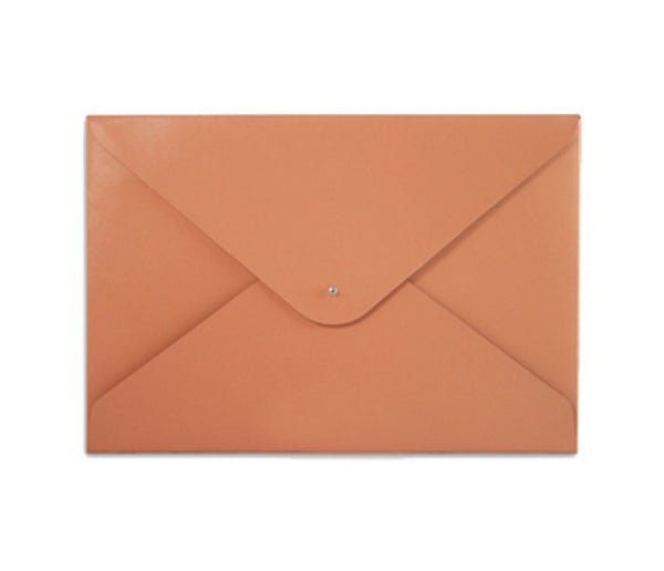 File Folder. Tangerine Orange