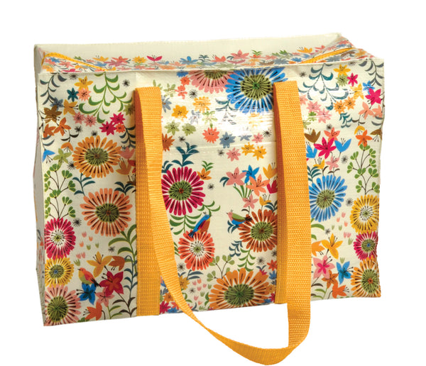 Flower Field Shoulder Tote QA625