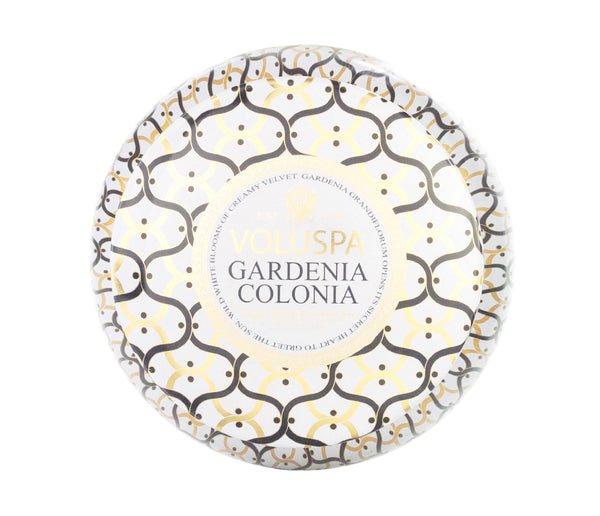 Gardenia Colonia 2 Wicks Candle