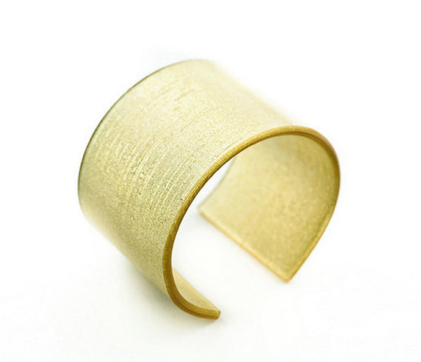 Pure Gold Wide Cuff