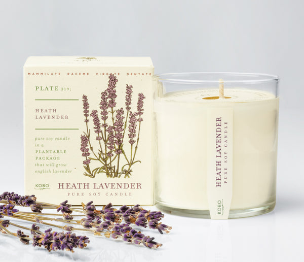 Seeds - Heath Lavender Candle