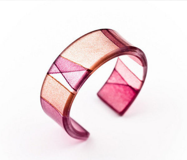 Mirage Claret Narrow Cuff