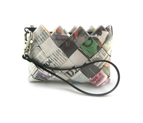 Coin Purse - Newspaper