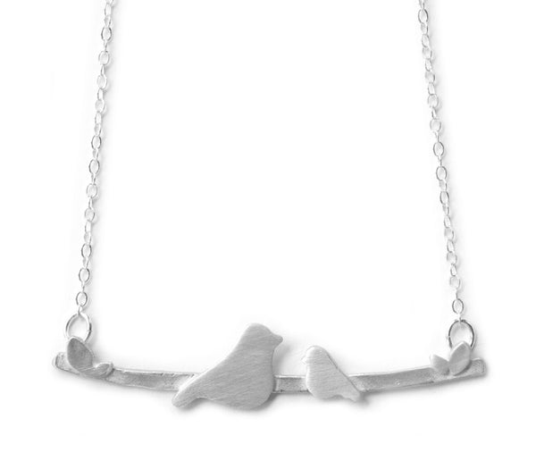 Nesting w/ 1 Baby Bird Necklace