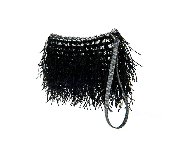 Shaggy Bag. Black