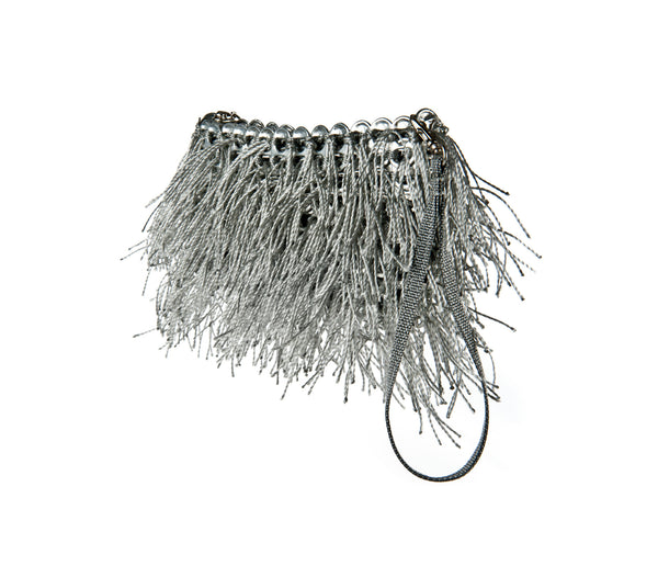 Shaggy Bag. Silver