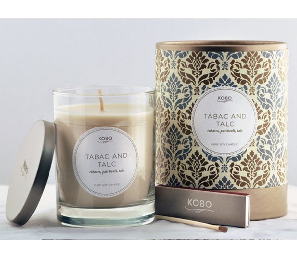 Tabac & Talc Candle