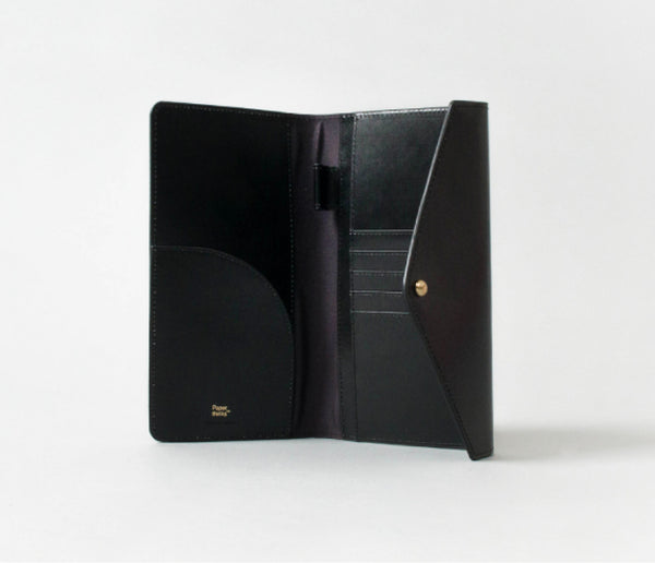Travel Envelope. Black