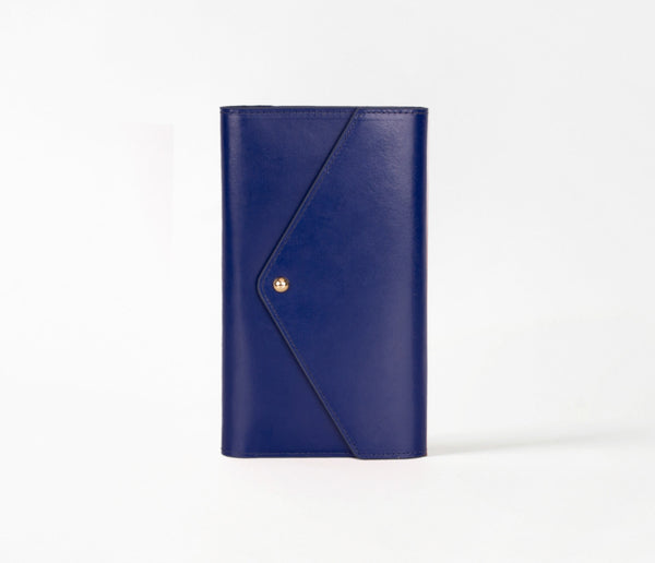 Travel Envelope. Navy Blue
