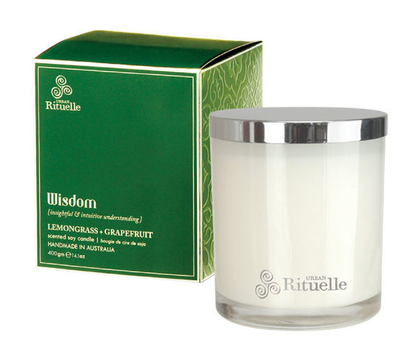 Wisdom: Lemongrass & Grapefruit Candle