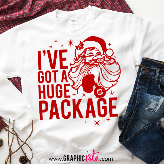 I've Got A Huge Package SVG