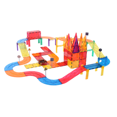 Matoyli MC08 MaToyLi Car Track | MaToyLi Car Track | Magnetic Tiles and Blocks | MaToyLi