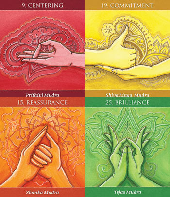 Mudras for Awakening the Body Deck