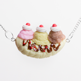 Banana Split Necklace