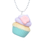 Mermaid Cupcake Necklace