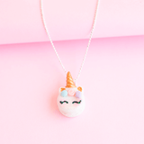 Unicorn Macaroon Necklace