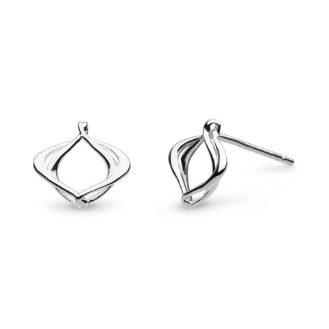 KH St Entwine Alicia Small Stud Earrings