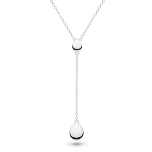 "KH Dro Coast Pebbles Chain RP Lariat 18"" Necklace"