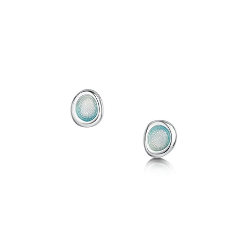 Arctic Stream Petite Stud Earrings