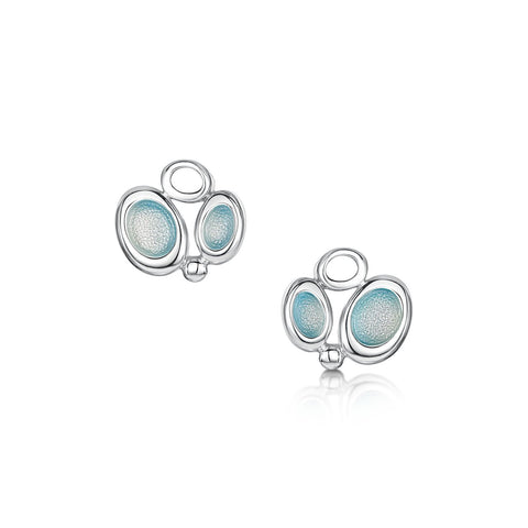 Arctic Stream Small Stud Earrings