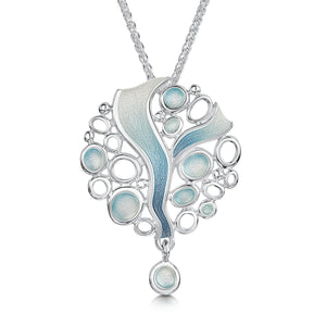 Arctic Stream Droplet Dress Pendant