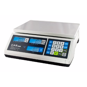 CAS ERJR30L Price Computing Scale, 15000 g Capacity, 2 g Readability