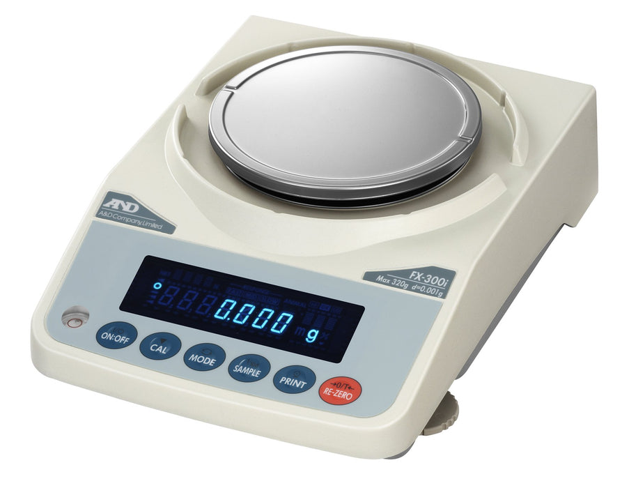 AND Weighing FX-300iNC Precision Balance, 320 g Capacity, 0.001 g Readability