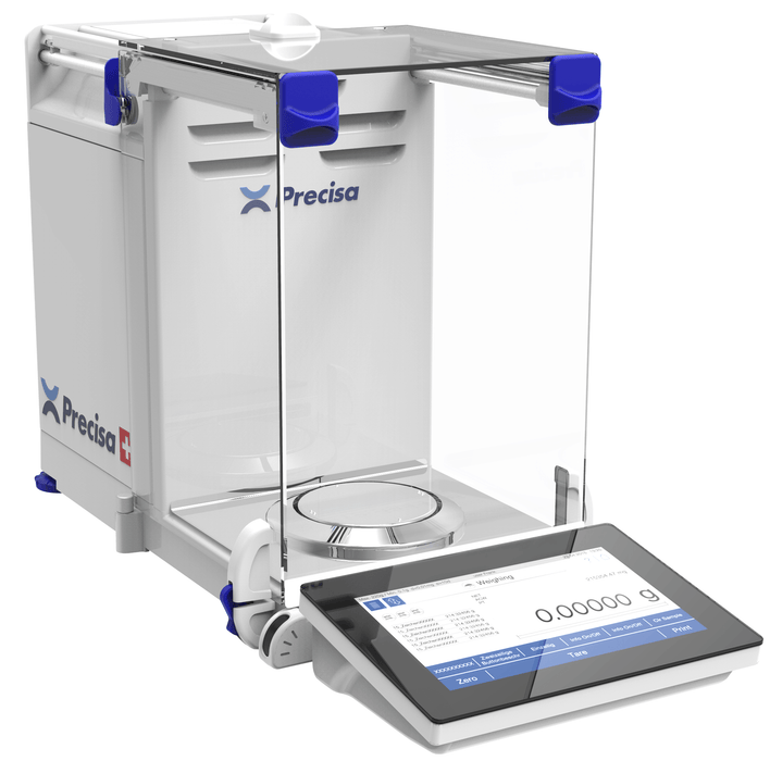 Intelligent Weighing HM-120A Precisa Analytical Balance, 120 g Capacity, 0.0001 g Readability