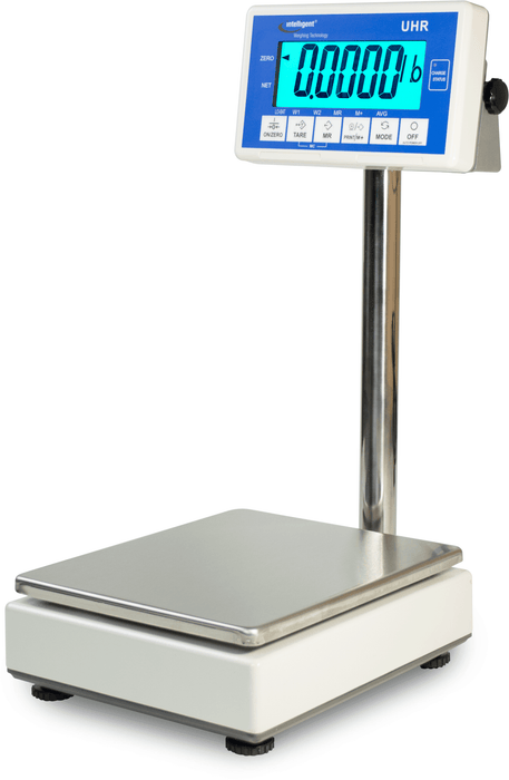Intelligent Weighing UHR-6EL High Precision Laboratory Bench Scale, 6000 g Capacity, 0.2 g Readability