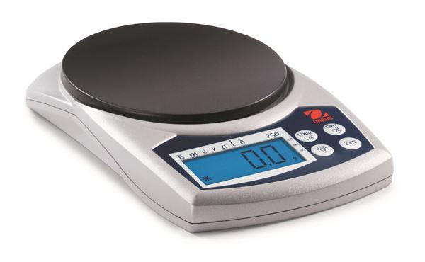 Ohaus JE250 Emerald Jewelry Scales, 250 g Capacity, 0.1 g Readability
