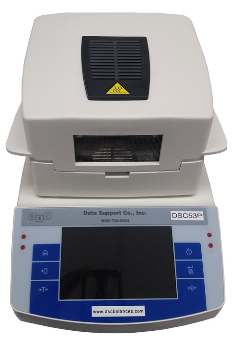 DSC53P™ Low Moisture Analyzer  (For Plastic Resins), 50 g Capacity, 0.0001 g Readability